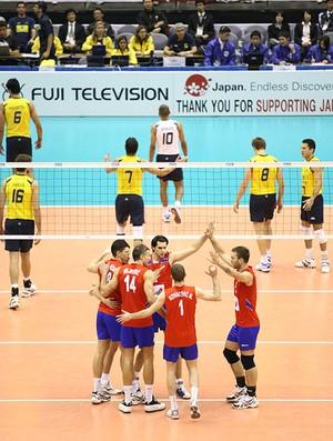 vôlei brasil sérvia (Foto: FIVB)