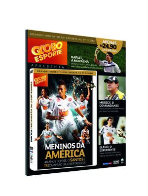 DVD em comemoração ao Tricampeonato na Libertadores do Santos (Foto: Reprodução)