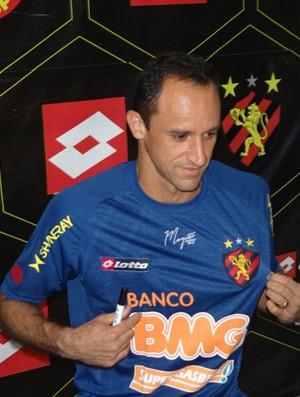 Magrão, camisa 2 (Foto: Bruno Marinho/GLOBOESPORTE.COM)