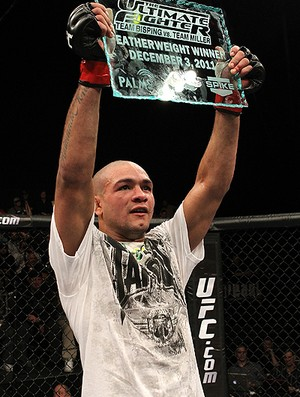 ultimate fight 14 Diego Brandao (Foto: Agência Getty Images)