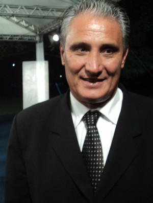 Tite, técnico do Corinthians, no Bem, Amigos! (Foto: Wagner Bordin/SporTV.com)
