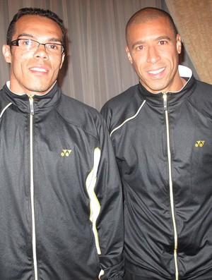 leandro domingues e Jorge Wagner Kashiwa Reysol (Foto: Thiago Dias / Globoesporte.com)