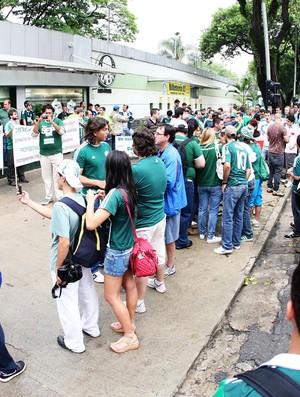palmeiras protesto torcida (Foto: Eduardo Viana/Lancepress)