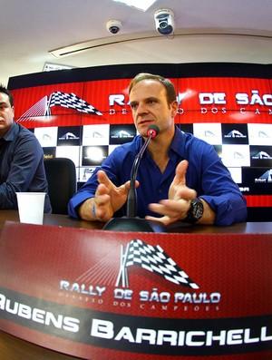 rubens barrichello rally de são Paulo coletiva (Foto: Carsten Horst / Mpteam)
