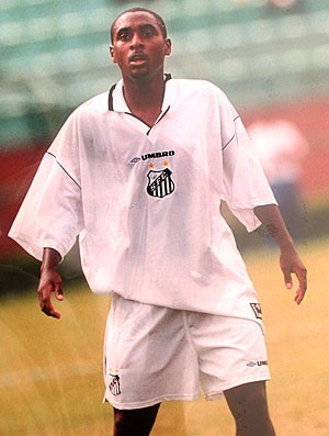 Em 1998, Adiel surge como uma revelação do Peixe (Foto: Divulgação / Arquivo Pessoal)