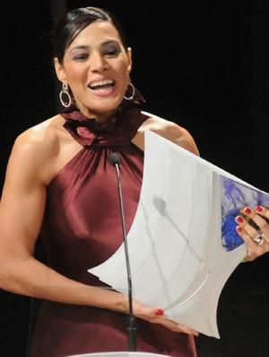 Rosicleia Campos Prêmio Brasil Olímpico (Foto: André Durão/Globoesporte.com)