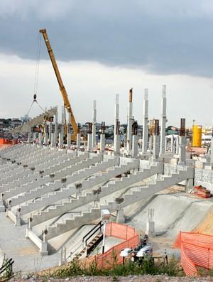 arena estádio corinthians obras (Foto: Divulgação / ODEBRECHT)