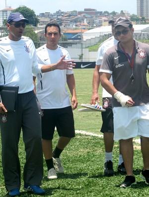 narciso corinthians copa são paulo juniores jogo-treino (Foto: Diego Ribeiro / Globoesporte.com)