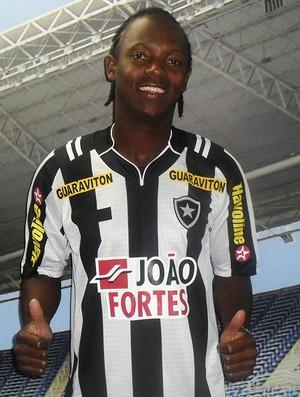 andrezinho apresentação botafogo (Foto: Divulgação/ Site Oficial Botafogo)