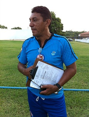 Erasmo Forte comanda o Tiradentes em 2012 (Foto: Diego Morais / Globoesporte.com)