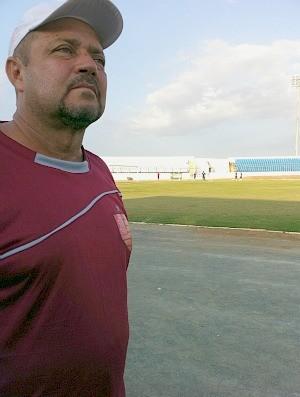 Técnico Adelmo Soares: debuta no futebol cearense (Foto: Diego Morais / Globoesporte.com)