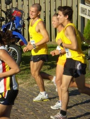 corrida de rua casal treino (Foto: Arquivo Pessoal)