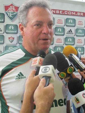 abel braga pré temporada mangaratiba (Foto: Edgard Maciel de Sá/Globoesporte.com)