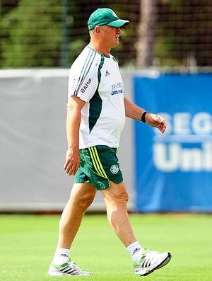 Felipão no treino do Palmeiras (Foto: Marcos Ribolli / GLOBOESPORTE.COM)