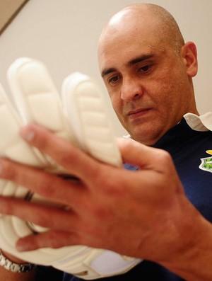 Marcos no dia de sua despedida oficial Palmeiras (Foto: Marcos Ribolli/Globoesporte.com)