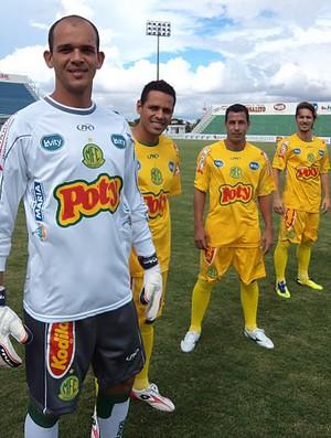 Mirassol apresenta uniforme para o Paulistão (Foto: Divulgação / Mirassol)