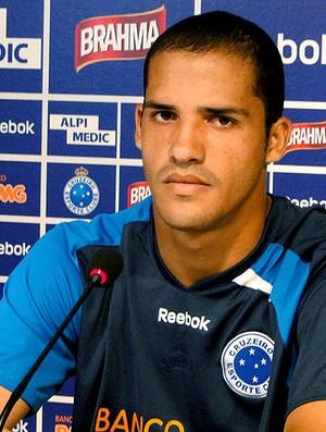 Anselmo Ramon do Cruzeiro durante coletiva (Foto: Marco Antônio Astoni / Globoesporte.com)