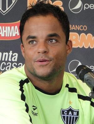 Mancini, meia do Atlético-MG (Foto: Fernando Martins/Globoesporte.com)