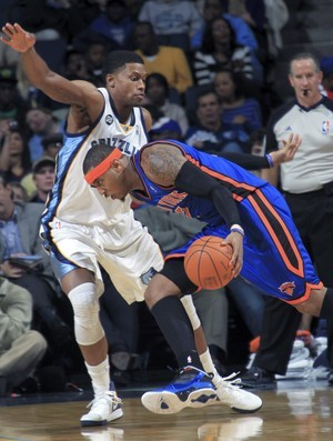 Carmelo Anthony e Rudy Gay, Knicks e Grizzlies (Foto: Reuters)