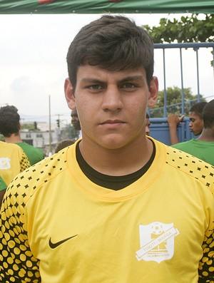Taça das Favelas Matheus Rochemback goleiro Mangueira (Foto: Pedro Veríssimo / Globoesporte.com)
