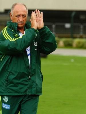 Felipão no jogo Palmeiras x Ajax (Foto: Marcos Ribolli / Globoesporte.com)
