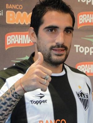 escudero atlético-mg (Foto: Fernando Martins/Globoesporte.com)