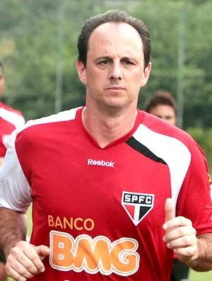 Rogério Ceni no treino do São Paulo (Foto: Rubens Chiri / Site oficial do São Paulo FC)