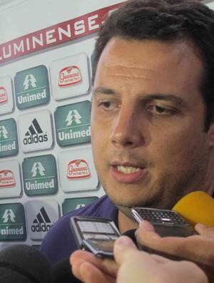 fluminense sandro lima entrevista (Foto: Edgard Maciel de Sá/Globoesporte.com)