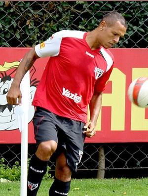 luis fabiano são paulo treino (Foto: Divulgação Site Oficial do São Paulo)