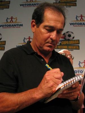 Muricy Ramalho em Votorantim (Foto: Rafaela Gonçalves / GLOBOESPORTE.COM)