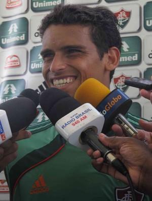 jean fluminense entrevista (Foto: Edgard Maciel de Sá/Globoesporte.com)