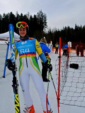 Tobias Macedo Innsbruck Áustria Jogos Olímpicos da Juventude de Inverno 2012 (Foto: Divulgação/CBDN)