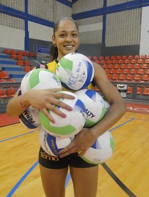 Ingrid, Mackenzie 1 (Foto: João Hélio Andrade / Divulgação / Assessoria Mackenzie)
