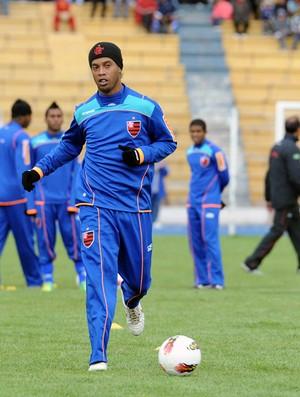 Ronaldinho Gaúcho Flamengo Potosi (Foto: Alexandre Vidal / Fla imagem)