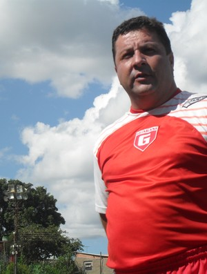 Gian Rodrigues, técnico do Guarani-MG (Foto: Cleber Corrêa)