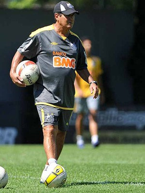 Muricy Ramalho Santos treino (Foto: Ivan Storti / Site Oficial do Santos FC)