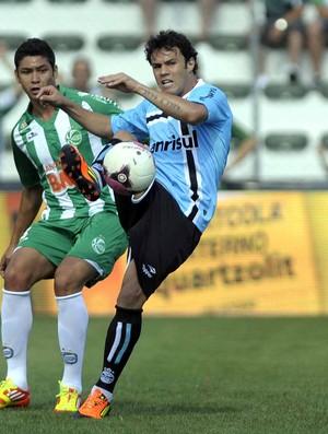 Kleber no jogo do Grêmio com o Juventude pelo Gauchão (Foto: Juan Barbosa / Agência RBS)