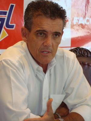 Paulo Roberto Santos - técnico do Rio Preto (Foto: Alan Schneider/GLOBOESPORTE.COM)