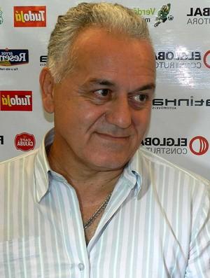 Paulo Luciano, gerente de futebol do Uberlândia Esporte (Foto: Fabiano Rodrigues/GLOBOESPORTE.COM)