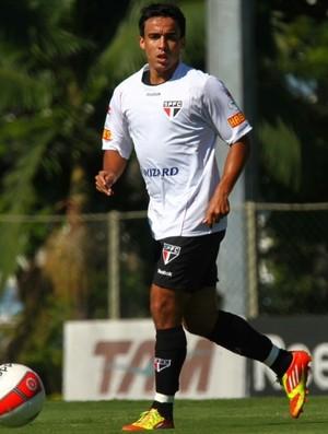 Jadson treino São Paulo (Foto: Luiz Pires/VIPCOMM)