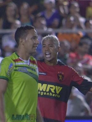 Salgueiro x Sport - Marcelinho Paraíba (Foto: Reprodução/TV Globo)