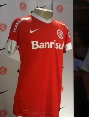 Lançamento da nova camisa do Inter (Foto: Tomás Hammes/Globoesporte.com)