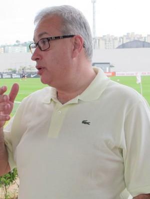 Roberto de Andrade no CT Dr. Joaquim Grava (Foto: Rodrigo Faber / Globoesporte.com)