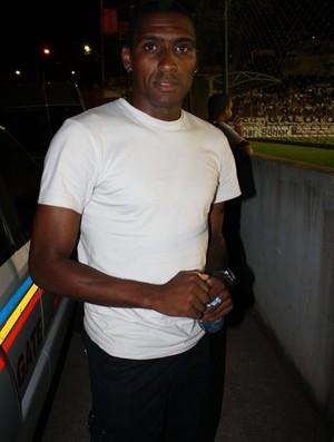 Jônatas Obina, acompanha jogo do América TO e Atlético-MG (Foto: Izaac Hiero)