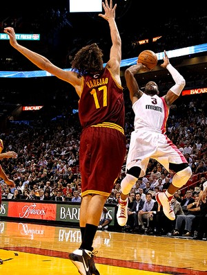 basquete nba dwyane wade miami heat anderson varejão cavaliers (Foto: Agência Getty Images)