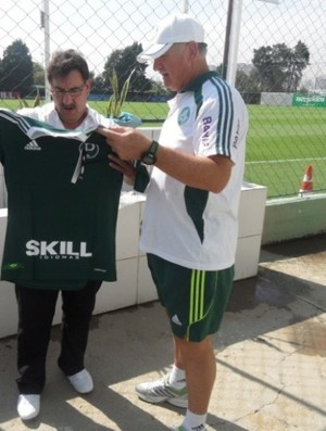 Ratinho Felipão CT Palmeiras (Foto: Site oficial do Palmeiras / Divulgação)