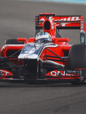 F1 TESTE Marussia Timo Glock (Foto: GETTY IMAGES)