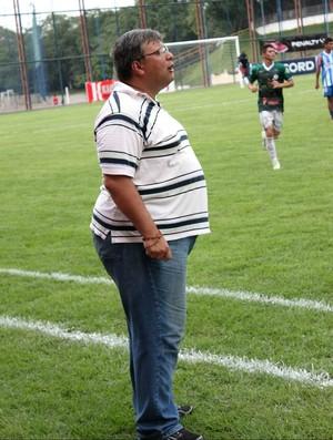 Na estreia, novo técnico do Iranduba, Luis Oliveira, não consegue a vitória (Foto: Anderson Silva/GLOBOESPORTE.COM)