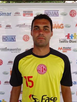 Rodrigo Sena, zagueiro do América TO (Foto: Divulgação / Assessoria do América TO)