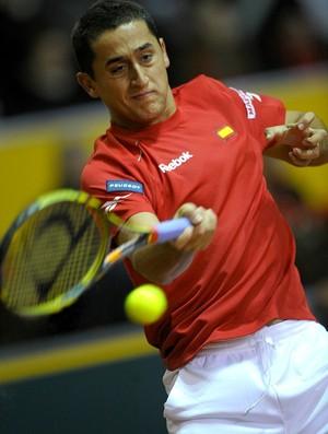 Nicolas Almagro Espanha Copa Davis (Foto: AFP)